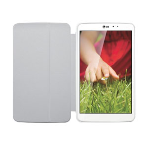 LG QuickPad Case for LG G Pad 8.3 White