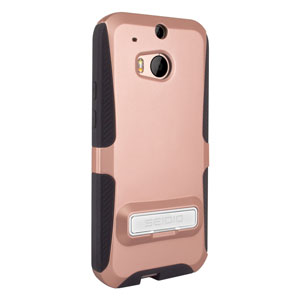 Seidio DILEX HTC One M8 Case with Kickstand - Gold