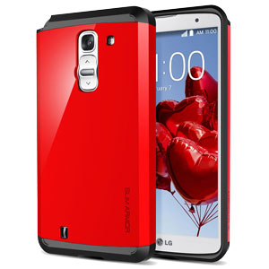 Spigen Slim Armor LG G Pro 2 Case - Crimson Red