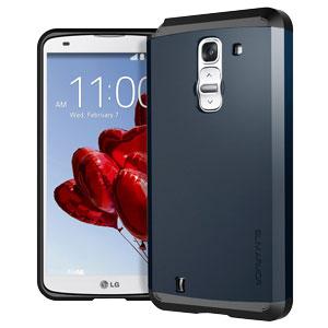 Spigen Slim Armor LG G Pro 2 Case - Metal Slate