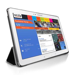Orzly Samsung Galaxy Tab Pro 10.1 Slim Rim Case - Black