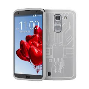 Cruzerlite Bugdroid Circuit LG G Pro 2 Case - Clear