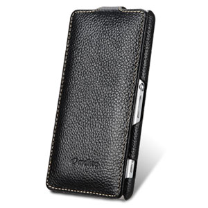 Melkco Premium Leather Flip Case for Sony Xperia Z1 Compact