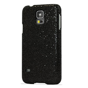 Samsung Galaxy S5 Glitter Case - Black