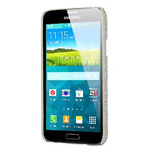 Samsung Galaxy S5 Glitter Case - Silver