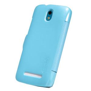 Nillkin HTC Desire 500 Leather Style Flip Case - Blue