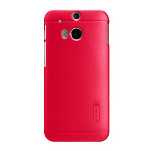 Nillkin Super Frosted Shield HTC One M8 2014 Case - Red