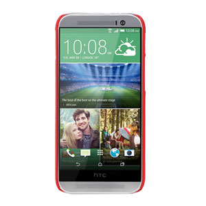 Nillkin Super Frosted Shield HTC One M8 Case - Red