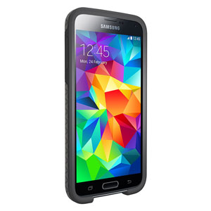 OtterBox Symmetry Samsung Galaxy S5 Case - Triangle Grey