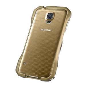 Draco Galaxy S5 Supernova S5 Aluminium Bumper - Copper Gold