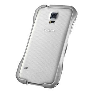 Draco Galaxy S5 Supernova S5 Aluminium Bumper - Astor Silver
