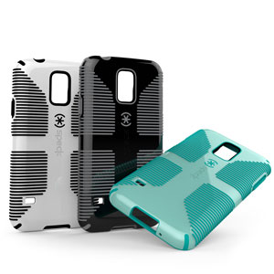 Speck CandyShell Grip for Samsung Galaxy S5 - White/Black