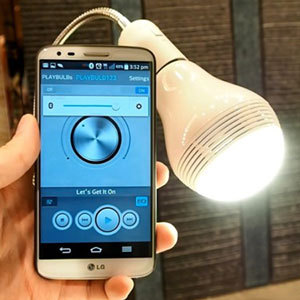 MiPow Playbulb Bluetooth Speaker Smart Bulb