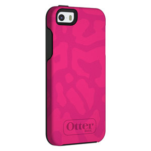 OtterBox Symmetry for Apple iPhone 5S / 5 - Cheetah Pink