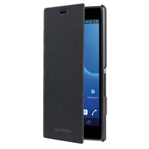 Roxfit Book Case for Sony Xperia M2 - Black