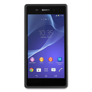 Roxfit Sony Xperia M2 Gel Shell Case - Black