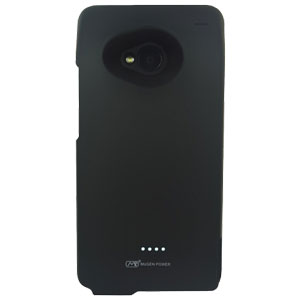 Mugen HTC One Dual SIM 5000mAh Extended Battery Case - Black