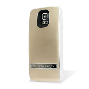 Samsung Galaxy S5 Power Jacket Case 3200mAh - Gold