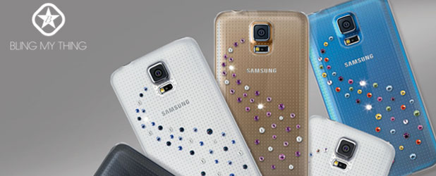 Bling My Thing Milky Way Galaxy S5 Diamante Case - Crystal