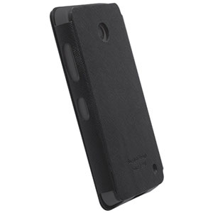 Krusell Nokia Lumia 635 / 630 Malmo FlipCase WwN - Black