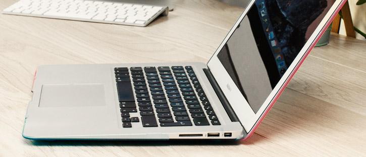 ToughGuard MacBook Air 13 Hard Case - Cosmic Haze (Rainbow)