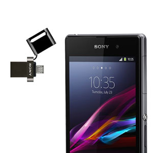 Sony Micro USB Flash Drive 32GB for Smartphones & Tablets - Black