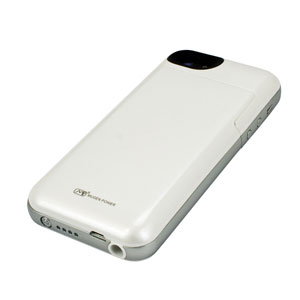 Mugen iPhone 5S / 5 Extended Battery Case 2100mAh - White