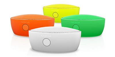 Nokia MD-12 Bluetooth Mini Speaker - White