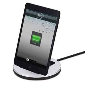 Just Mobile AluBolt Sync&Charge Dock for iPhone 5/5S/5C, iPad Mini