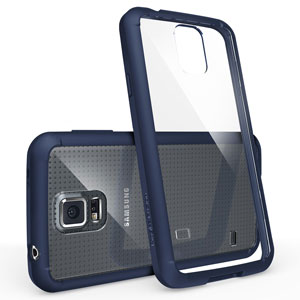 Rearth Ringke Fusion Samsung Galaxy S5 Case - Blue / Clear