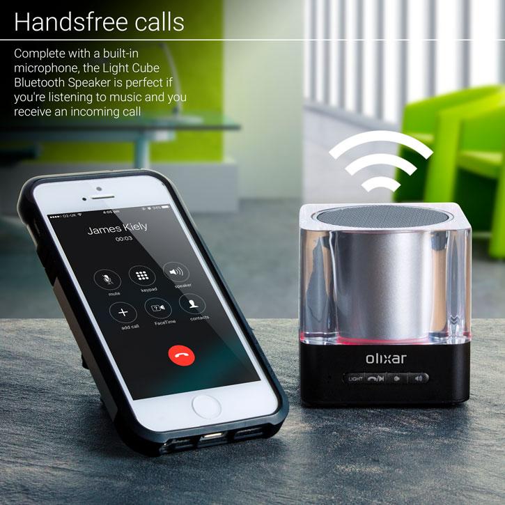Olixar Light Cube Portable Bluetooth Speaker