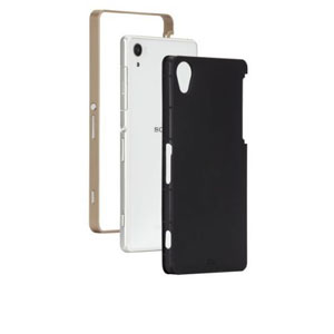 Case-Mate Slim Tough Case for Sony Xperia Z2 - Black / Gold