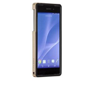 Case-Mate Slim Tough Case for Sony Xperia Z2 - Black / Gold