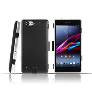 Sony Xperia Z1 Compact Power Jacket Case 3200mAh - Black