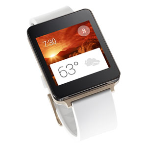 LG G Watch pour Smartphones Android - Champagne Or