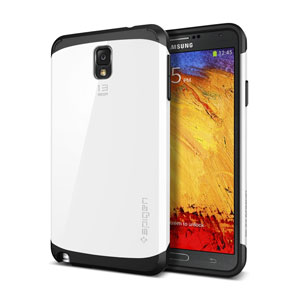 Spigen Slim Armor Galaxy Note 3 Japanese Model Case - Infinity White