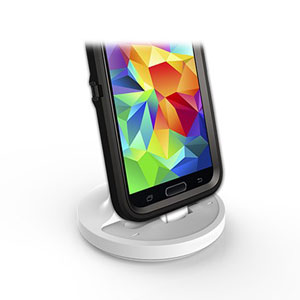 Cover-Mate Case Compatible Galaxy S5 Charging Dock - White