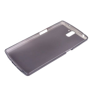 Flexishield OnePlus One Case - Smoke Black