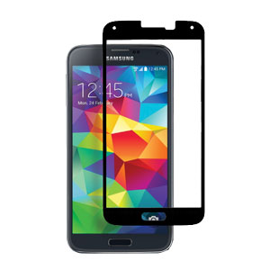 STK Samsung Galaxy S5 Tempered Glass Screen Protector - Black
