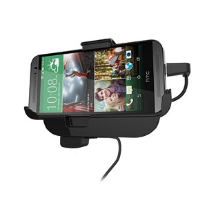 HTC One M8 In Car Mount Cradle with Hands-Free - Black
