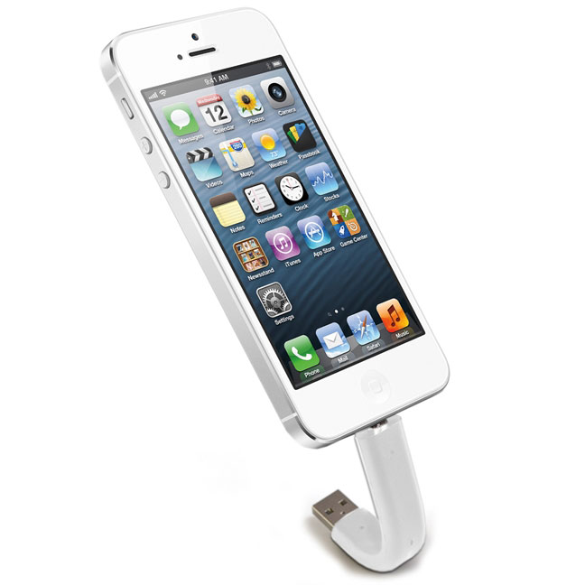 ILoveHandles Lightning Devices Trunk Charging Cable - White