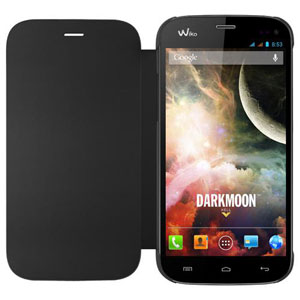 Official Wiko Darkmoon Folio Case - Black
