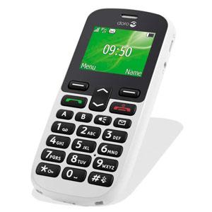 Sim Free Doro PhoneEasy 508 - White