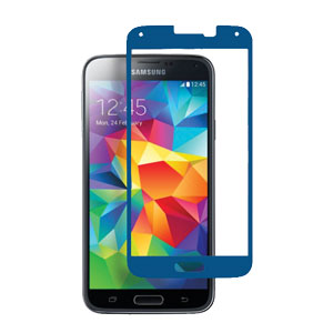 STK Samsung Galaxy S5 Tempered Glass Screen Protector - Blue
