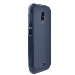 Flexishield Wiko Darkmoon Case - Smoke Black
