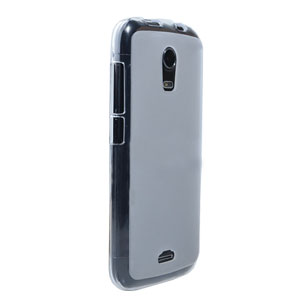 Flexishield Wiko Darkmoon Case - Frost White