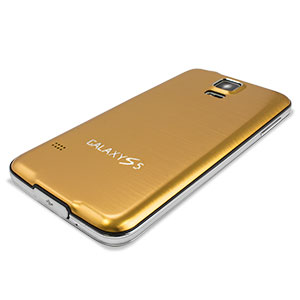 Replacement Aluminium Metal Samsung Galaxy S5 Back Cover - Gold