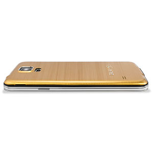 Replacement Back Cover for Samsung Galaxy S5 - Gold