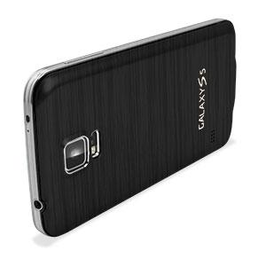 Replacement Aluminium Metal Samsung Galaxy S5 Back Cover - Black