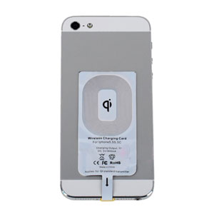 Qi iPhone 5S / 5C / 5 Wireless Charging Receiver